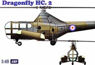 AMP Kits  1/48 Westland WS-51 Dragonfly HC2 Rescue Helicopter APK48003