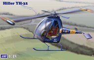 AMP Kits  1/48 Hiller YH32 US Ultra Light Helicopter (New Tool) APK48005