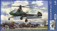 AMP Kits  1/48 Doblhoff WNF342 WWII German Experimental Helicopter (New Tool) APK48008