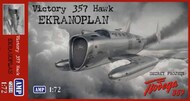 AMP Kits  1/72 Victory 357 Hawk Ekranoplan Secret Project Aircraft - Pre-Order Item APK72010