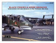 AOA Decals  1/32 North-American/Rockwell OV-10A Bronco Black Ponies & More Broncos - AOA32004