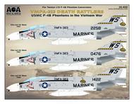 USMC F-4B Phantom II in the Vietnam War - VMFA-323 Death Rattlers #AOA32032