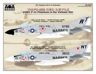 USMC F-4J Phantom II in the Vietnam War - VMFA-232 Red Devils #AOA32033