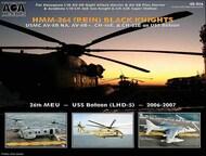 USMC HMM-264(REIN) Black Knights [AV-8B AV-8B+ CH-46E & CH-53E on USS Bataan] #AOA48016
