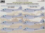 'Intruder Sandbox' USN/USMC A-6E Intruders in Libya Strikes & Desert Storm #AOA72002