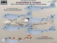 USN A-6E Intruders in the Cold War & Desert Storm VA-75 Sunday Punchers & VA-65 Tigers #AOA72010
