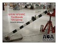 AOA Decals  1/32 USN/USMC Tailhook Striping (available in 1/32, 1/48, & 1/72) AOASS02