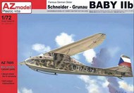Schneider/Grunau Baby IIb (re-issue of an older kit with new decal options) #AZM7605