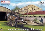 Hansa-Brandenburg B.I Srs.76 (re-issue of an older kit with new decal options) #AZM7606