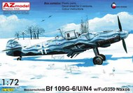 Messerschmitt Bf.109G-6/U/N4 with FuG 350 Naxos #AZM7614