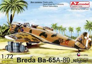 Breda Ba.65A-80 'In Italian service' #AZM7618