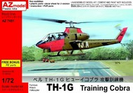 AZ Models  1/72 TH1G Training Cobra Helicopter AZO7451