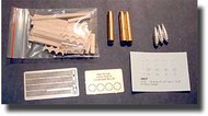 Aber Accessories  1/16 Tiger I Ammo with Wooden Box and PE ABR16012