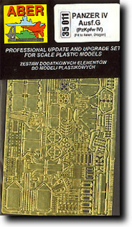 Aber Accessories  1/35 Pz.Kpfw.IV G Detail ABR35011