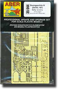 Aber Accessories  1/35 StuG IV Early Detail ABR35044