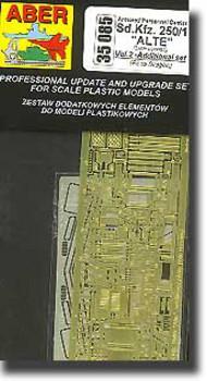 Aber Accessories  1/35 Sd.Kfz.250/1 Alt - Additional Set ABR35085