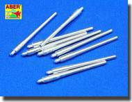 Aber Accessories  1/350 Set of 9 pcs 460 mm barrels for Japan ships : Musashi, Yamato  ABR350L09