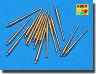 Aber Accessories  1/350 Set of 16 pcs 105 mm SFLAK barrels used in C/33 mount for German ships ABR350L13