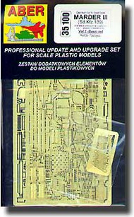 Aber Accessories  1/35 Marder III - Basic Set ABR35100