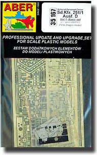 Aber Accessories  1/35 Sd.Kfz 251/1 D Detail Set ABR35167