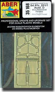 Aber Accessories  1/35 Sd.Kfz 251/1 D Fenders ABR35168