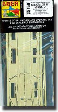 Aber Accessories  1/35 Sd.Kfz 251/1 D Stowage Bins ABR35169