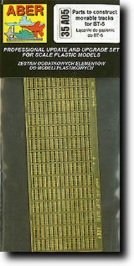 Aber Accessories  1/35 BT-5 Track Parts ABR35A005