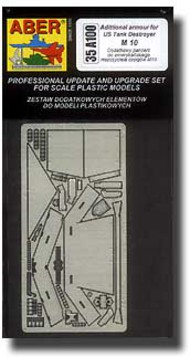 Aber Accessories  1/35 M10 Additional Armor ABR35A100