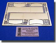 Aber Accessories  1/35 Tiger I Initial Turret Side Boxes ABR35A106