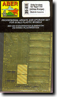 Aber Accessories  1/35 Afrika Tiger Side Fenders ABR35A11