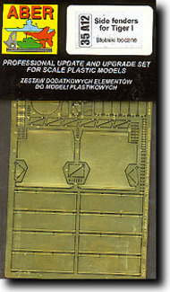 Aber Accessories  1/35 Early Tiger Side Fenders ABR35A12