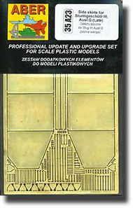 Aber Accessories  1/35 StuG.III Late Side Skirts ABR35A023