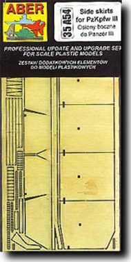 Aber Accessories  1/35 Pz.Kpfw.III Side Skirts ABR35A054