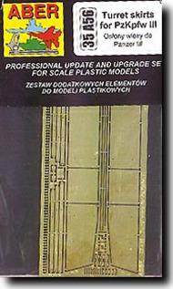 Aber Accessories  1/35 Pz.Kpfw.III Turret Skirts ABR35A056