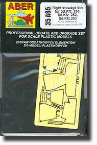 Aber Accessories  1/35 Right Stowage Bins ABR35A85