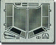 Aber Accessories  1/35 Antigrenade Screens For KWK 38 Turret ABR35G19