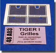 Aber Accessories  1/48 Tiger I Grills ABR48A03