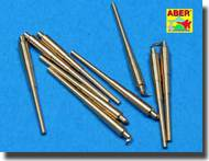 Aber Accessories  1/700 Set of 20 pcs 127 mm  universal barrels for US Navy ships ABR700L13