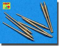 Aber Accessories  1/700 Set of 8 pcs 380 mm barrels for ships: Bismarck, Tirpitz ABR700L14