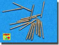Aber Accessories  1/700 Set of 16 pcs 105 mm SFLAK barrels used in C/37 mount for German ships ABR700L17