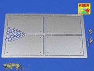 Aber Accessories  1/16 Tiger II Henshel- Vol.4- Armour for grilles ABR16037