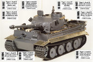 Aber Accessories  1/16 Tiger I Ausf. E Early ABR16K01
