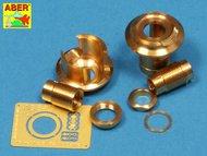 Aber Accessories  1/16 Final Muzzle Brake 75mm German ABR16L11