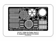 Grilles for Pz.Kpfw Ausf.G Panther & Jagdpanther Ausf.G2 Late models #ABR35G35