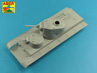 Main Armament for Soviet SMK Heavy Tank 1x76,2mm L-11, 1x45mm M1932 #ABR35L275