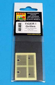 Aber Accessories  1/48 Tiger I Grills (Skybow) ABR48A003