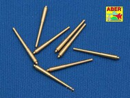 Aber Accessories  1/700 Set of 8 pcs 381 mm long barrels for turrets without antiblast covers ship Hood ABR700-L08