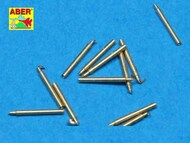Aber Accessories  1/700 Set of 12 pcs 140 mm barrels for ship Hood ABR700-L10
