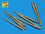 Aber Accessories  1/700 Set of 8 pcs 380 mm barrels for ships: Bismarck, Tirpitz ABR700-L14