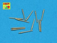Aber Accessories  1/700 Set of 16 pcs 105 mm SFLAK barrels used in C/37 mount for German ships ABR700-L17